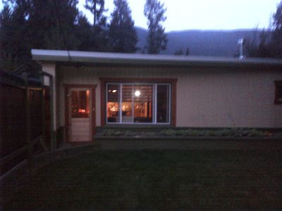Photo for Cosy and cute 2 bedroom home near vibrant city of Nelson BC