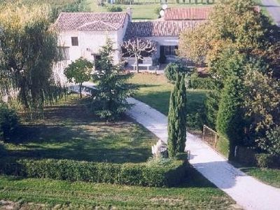 Photo for large house between vineyards + orchards 14pers with pool in the countryside