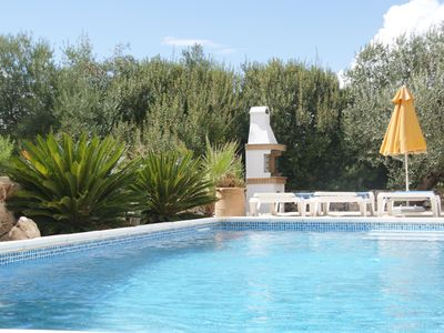 Photo for Idyllic location - detached villa with private pool and stunning views.