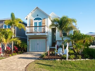Front View of Key Largo Cottage