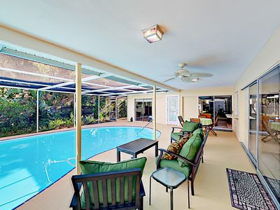 Photo for 3BR w/ Private Pool in Quiet Residential Neighborhood – Near Downtown & Beach