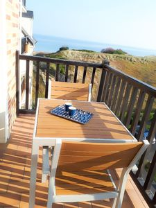 Photo for Superb F2 with sea view balcony - direct access to the beach - 4 people