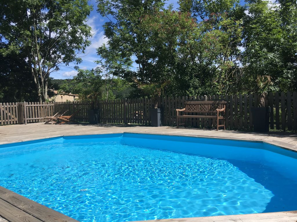 Perfect Luxury Cottage In Ardeche For 13 People In A Quiet Area With Swimming Pool  And Jacuzzi. Silhac Villa Rental