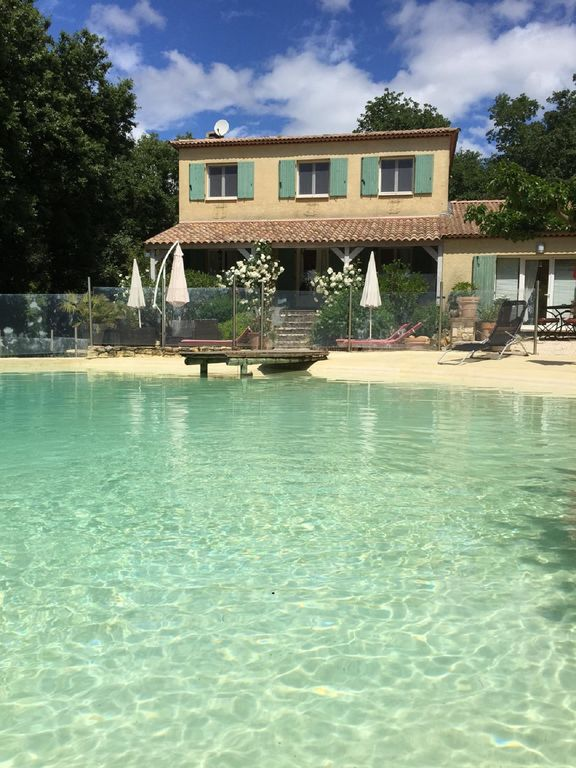 Mas of 140m2 for 8 people, swimming pool lagoon, 2500m2 of raised ground,  wifi - Fontarèches