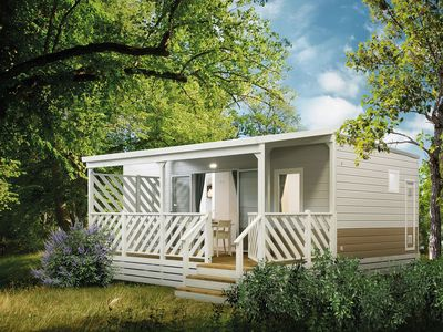 Photo for Mobilehome in the holiday resort Bi-Village