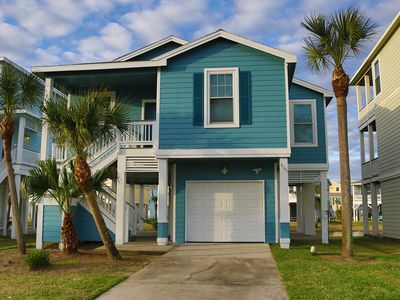 Galveston TX - Pointe West Cottage - Sleeps 10 - Golf Cart Included - Pets Free