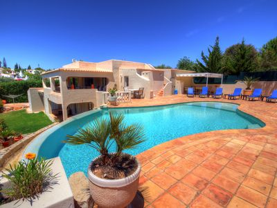 Photo for 3 bedroom luxury villa with private pool, aircon, wifi, close to town and beach
