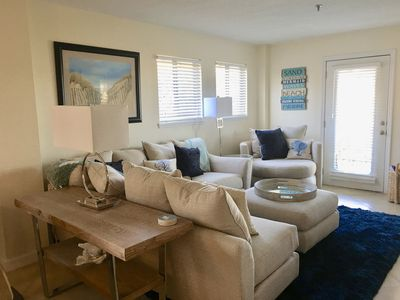 """Livingroom with 50"""" plasma and new sectional furniture"""