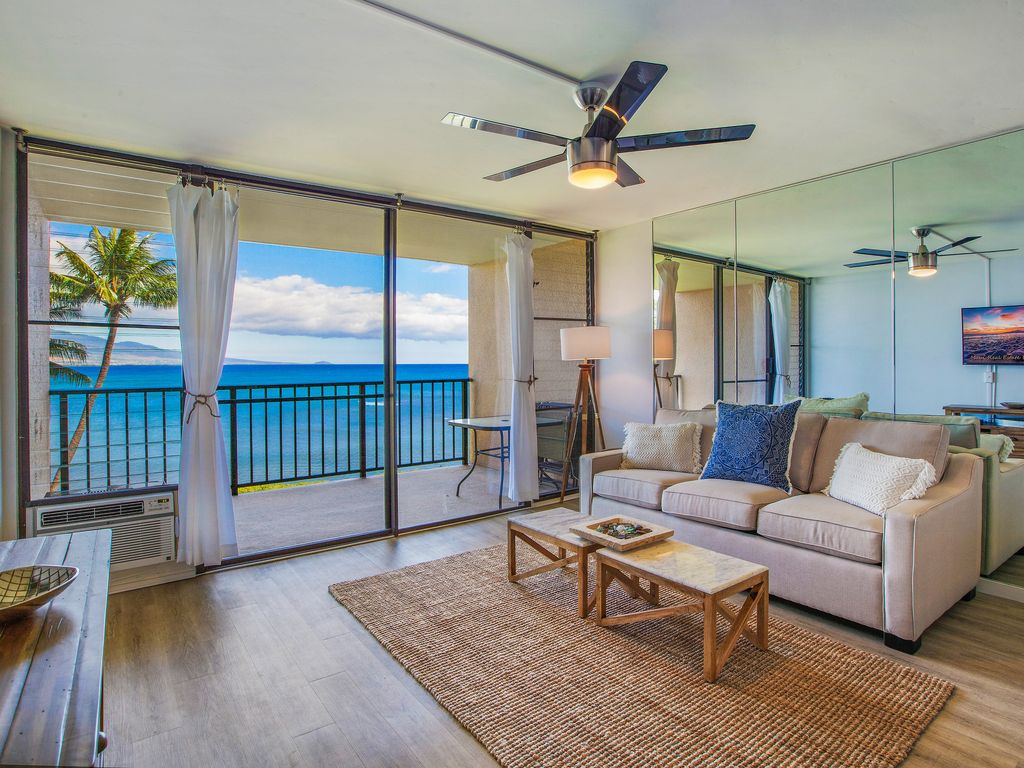 Beachfront Condo Renovations : Oceanfront condo remodel completed july steps to the