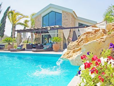 Photo for A Tranquil Luxury Retreat with Private Pool Nestled in the Hills of Protaras with Amazing Views!