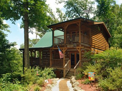 Photo for Serenity Creek is a private and secluded cabin on 4.5 acres.