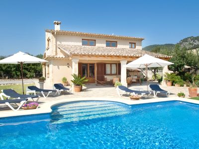 Photo for Villa Beata for 8 guests, only 1km from Old Town Pollensa and 6km to the beach!