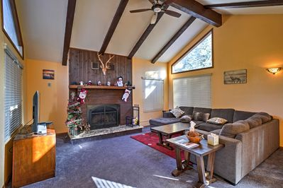 Discover excitement and relaxation at this 4-bedroom, 3-bath Big Bear Lake home!