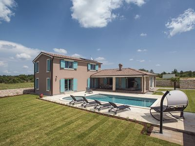 Photo for Unique villa with private pool, 4 bedrooms, 4 bathrooms, WiFi, climate, table tennis, table football and a sun terrace with barbecue