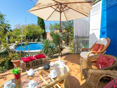 Photo for Wonderful private villa for six people with WIFI, private pool, TV and parking