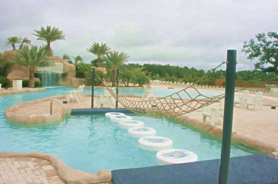 The Oasis: a private pool facility for Wharf Guests and Owners only.