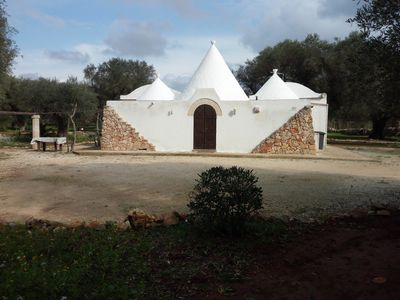 """Photo for """"Trulli Monte Madre 1"""" with Private Swimming Pool"""