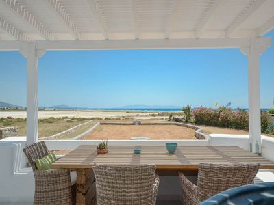 Photo for Deluxe Seaside Villa welcomes you to Naxos