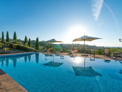 Photo for Six Bedroom Villa Montaione  Villa Colleoni is a gorgeous stone country house set in its own beautiful