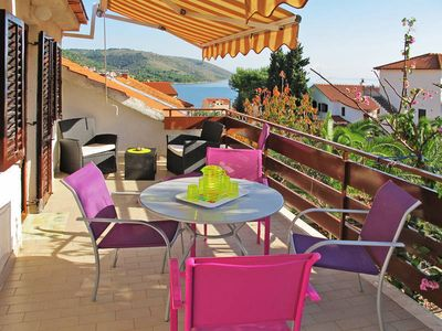 Photo for Apartment Haus Iva  in Okrug Gornji - Insel Ciovo, Dalmatia - 6 persons, 2 bedrooms