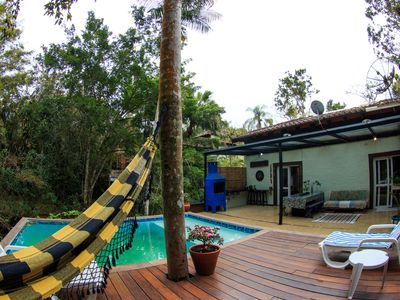 Photo for High standard house, swimming pool, air, 350m from the beach
