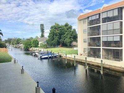 Photo for on canal with gulf access - condo for snowbirds