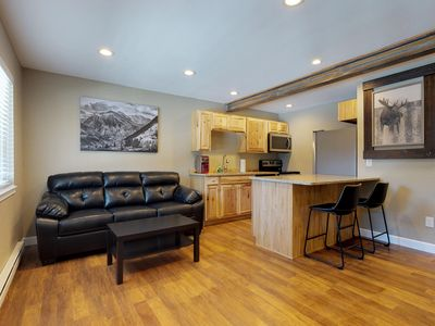 Photo for Comfortable condo w/ Quandary Peak views - near the slopes and Breckenridge