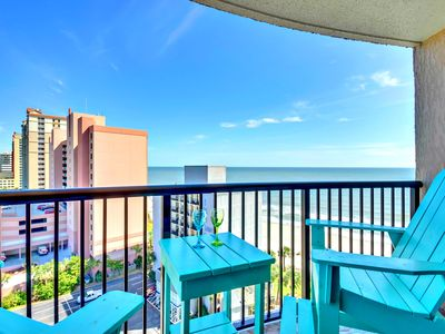 WOW Compass Cove End Condo/ Extended Balcony/Privacy/60TV/XBOXONE/Netflix/slp8