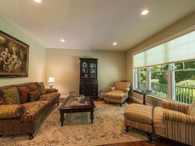 Photo for Beautiful 5 bedroom located on 1 acre manicured