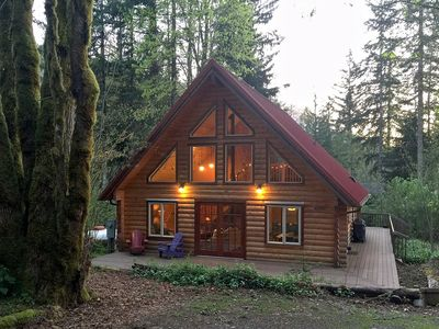 Photo for Glacier Springs Cabin #21 - Log Cabin - Pets Ok - Sleeps 6