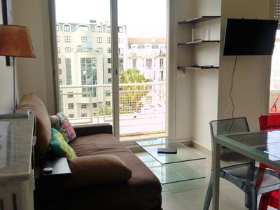 Photo for Cozy and calm studio with balcony in the heart of Nice