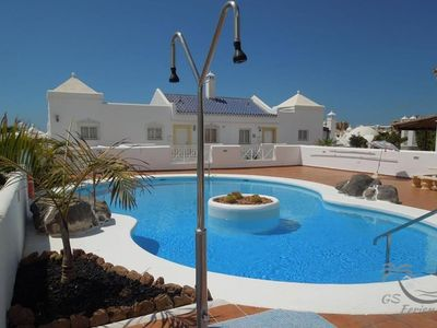 Photo for Tenerife South Costa Adeje Playa Paraiso community pool