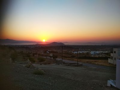 Photo for Naxos Golden Sunset - New built house with amazing sea and sunset view