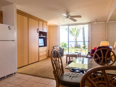 Photo for Fall Special Rate- Direct Oceanfront Napili Shores studio I-170 - Napili Bay