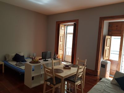 Photo for Large flat with 5 rooms, up to 12 quiet guests, close to metro Chiado, a/c wifi