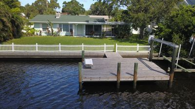Photo for 2 Bedrooms, only minutes to Anna Maria Island Bring your Boat and keep it on your own Dock!