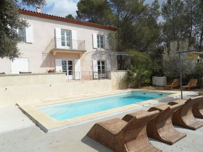 Photo for Charming Bastide near Montpellier with swimming pool