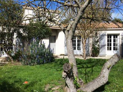Photo for New! Charming house with heated pool, garden, town center