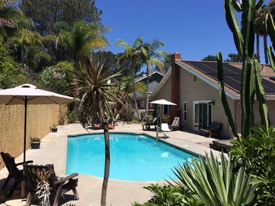 Photo for Family-friendly escape in Encinitas w/private pool & spa