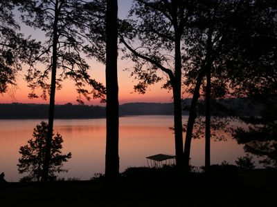 Photo for Perfect Lake Hartwell Getaway.  Right On The Water, 12 Minutes From Campus