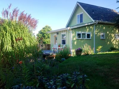 Photo for Light Filled, Adorable Cottage With Lovely Views, Walkable to Downtown Langley