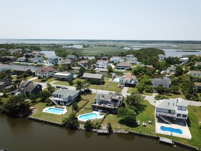 Photo for *20% off Summer Rentals* Great Escape on Back Bay, pool/kayaks/paddleboards/game