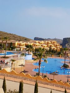 Photo for Apartment in summits of the sun of benitache ll located in the ub village montecala