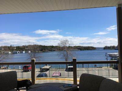 Photo for Recently renovated cozy suite in downton Charlevoix with a fabulous view!