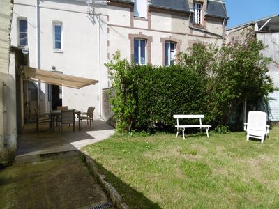 "Photo for House with garden ""old Villers"", close sea and trade."