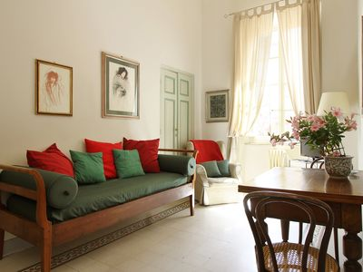 Photo for Elegant apartment for 5 persons inside the walls of Lucca