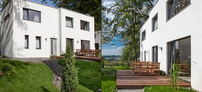 Photo for House sea-pleasure | 90 sqm, max. 4 + 2 pers. - The beach houses | Rügen vacation with fireplace and sauna