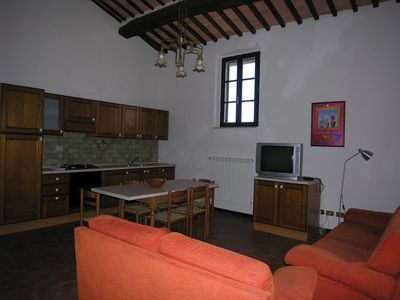 Photo for Mensanello apartment 6 pax estate in a real farm