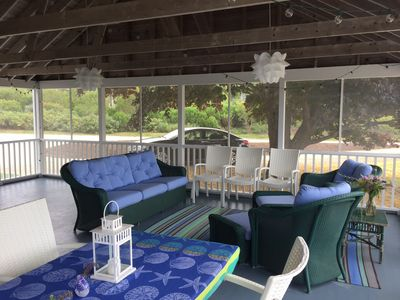 Photo for Amazing family summer beach house in Westport Point, MA