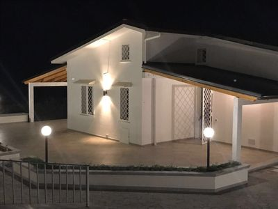 Photo for Relax Villa with sea view 3 km from the beach
